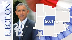 Franklin CountyBarack Obama  Votes: 325,654 (60.1%)Mitt Romney  Votes: 207,941 (38.4%)