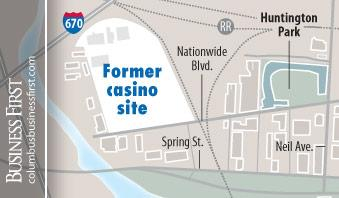 Nationwide Realty Investors Ltd. is planning a residential complex for the former Arena District site of Columbus' casino.
