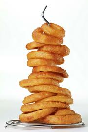 Or a stack of onion rings.