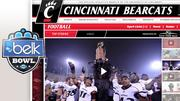Team/Record: University of Cincinnati (9-3)Bowl/Site: Belk, Charlotte, N.C.Time/Date: 6:30 p.m., Dec. 27Opponent/Record: Duke University (6-6)Payout per team: $1.7 million