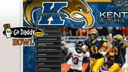 Team/Record: Kent State University (11-2)Bowl/Site: GoDaddy.com, Mobile, Ala.Time/Date: 9 p.m., Jan. 6Opponent/Record: Arkansas State University (9-3)Payout per team: $750,000