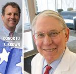 Countdown: Brown, <strong>Mandel</strong> supports among business community