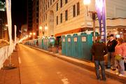 And the porta-potties were numerous, with 514 this year to alleviate long lines.
