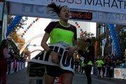 The women's winner was Lauren Woodring of Bethel, Pa., in2:45:29.