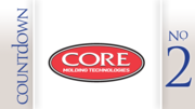 No. 2: Core Molding Technologies Inc. Change in stock price: 40.7%