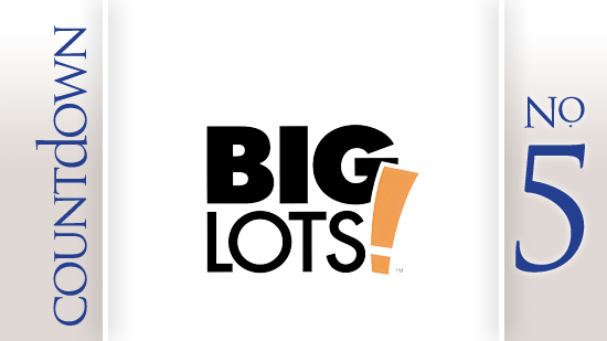 No. 5: Big Lots Inc.