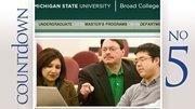 No. 5: Michigan State University Broad Graduate School of ManagementBusinessweek rank: 44Median 20-year earnings: $2.13 million