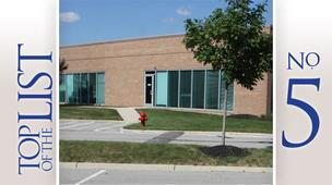 No. 5: 800 Tech Center DriveLocation: GahannaSize of leased space: 53,000 square feet