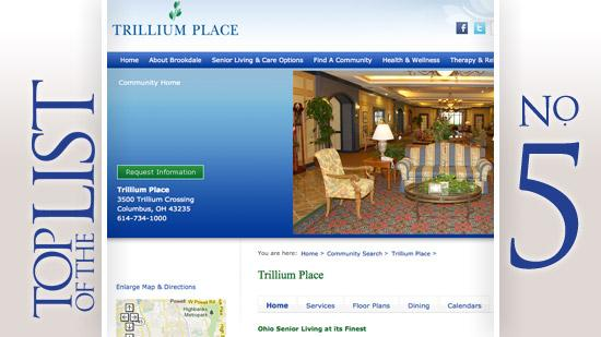 No. 5: Trillium PlaceLocation: ColumbusApartments: 154