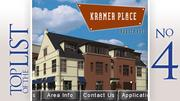 No. 4: Kramer PlaceLocation: 825 N. Fourth St., ColumbusStarting monthly rent for two-bedroom: $1,400