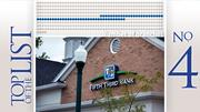 No. 4: Fifth Third Bank Central Ohio branches: 60