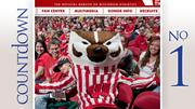No. 1: Wisconsin Average home attendance: 17,230 Total home attendance: 275,680 Home games: 16
