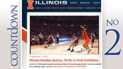 No. 2: Illinois Average home attendance: 15,851 Total home attendance: 253,623 Home games: 16