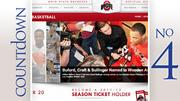 No. 4: Ohio State Average home attendance: 15,125 Total home attendance: 302,498 Home games: 20