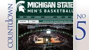 No. 5: Michigan State Average home attendance: 14,797 Total home attendance: 221,955 Home games: 15