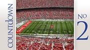 No. 2: Ohio State University Stadium: Ohio Stadium Average percent full: 103 percent Average attendance: 105,231
