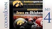 No. 4: University of Iowa Stadium: Kinnick Stadium Average percent full: 100 percent Average attendance: 70,585