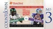 Bowl/City: Fiesta Bowl, PhoenixDate: Jan. 3Teams: Kansas State vs. OregonAverage Ticket Price: $341