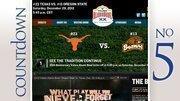 Bowl/City: Alamo Bowl, San Antonio, TexasDate: Dec. 29Teams: Oregon State vs. TexasAverage Ticket Price: $191