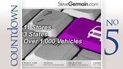Germain Motor Co., ColumbusOhio rank: 5Nationwide rank: 94New cars sold: 8,726