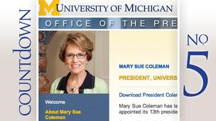 No. 5: Mary Sue Coleman