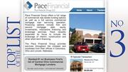 Pace Financial Group LLCBased: Columbus2011 commercial mortgage loan volume: $302.2 million
