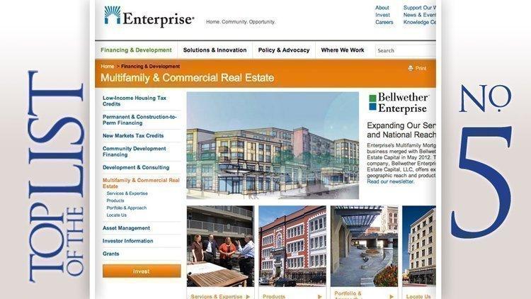 Bellwether Enterprise Real Estate Capital LLCBased: Dublin2011 commercial mortgage loan volume: $180.7 million