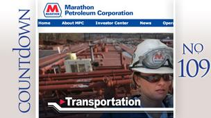 Company: Marathon Petroleum Corp.Rank: 109Amount given: $3,841,000