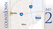 Monroe County2012 sales tax revenue: $1.38 millionIncrease from 2011: 30% Drilling permits: 22