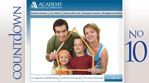 Academy Mortgage Corp.Number of loans: 9,361Amount lent: $1.6 billion