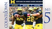No. 5: Michigan Number of five-star recruits: 2