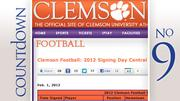 No. 9: Clemson Number of five-star recruits: 0
