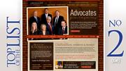 Grossman Law OfficesFamily law attorneys: 7 Share of caseload: 100%