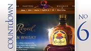 Brand: Crown Royal Canadian Whiskey Gallons sold: 276,619
