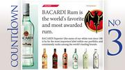 Brand: Bacardi Superior Light RumGallons sold: 287,378