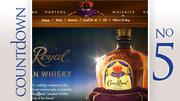 Brand: Crown Royal Canadian WhiskeyGallons sold: 281,295