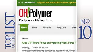 No. 10: PolymerOhio Network Inc.