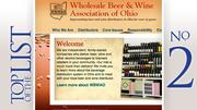 No. 2: Wholesale Beer & Wine Association of Ohio 2011 lobbying expenditure in Ohio:$24,600