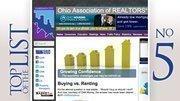 No. 5: Ohio Association of Realtors 2011 lobbying expenditure in Ohio:$15,169