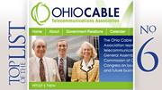 No. 6: Ohio Cable Telecommunications Association 2011 lobbying expenditure in Ohio:$14,895