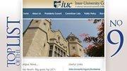 No. 9: Inter-University Council of Ohio 2011 lobbying expenditure in Ohio:$11,065