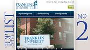 No. 2: Franklin UniversityLocation: 201 S. Grant Ave.MBA students: 472