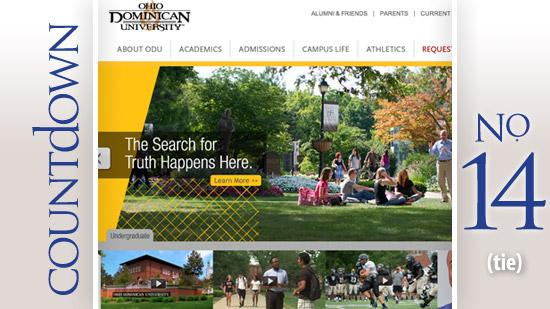 No. 14: Ohio Dominican University Midwest region rank: 88Based: Columbus Tuition: $26,790