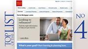 No. 4: Wells Fargo Home Mortgage 2011 home loans closed:2,650