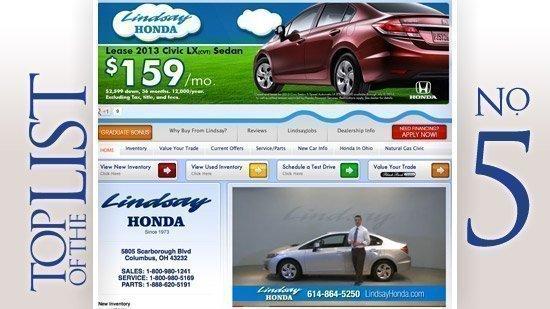 Lindsay AutomotiveAddress: 5880 Scarborough Blvd., ColumbusNo. sold/leased: 5,098