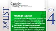 No. 4: Cassidy Turley Based: Columbus Square feet managed in Central Ohio: 13.6 million
