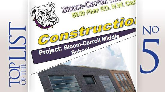 No. 5: Bloom Carroll Middle SchoolLocation: 69 S. Beaver St., Carroll 43112Estimated project construction costs: $24 million
