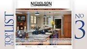 Nicholson Builders Inc.Local remodeling volume: $5.8 millionBased: Columbus