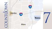 County: MonroeUtica shale permits: 27