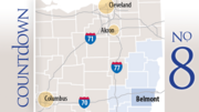 County: BelmontUtica shale permits: 22